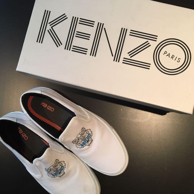 KENZO VELVET SLIPS ON