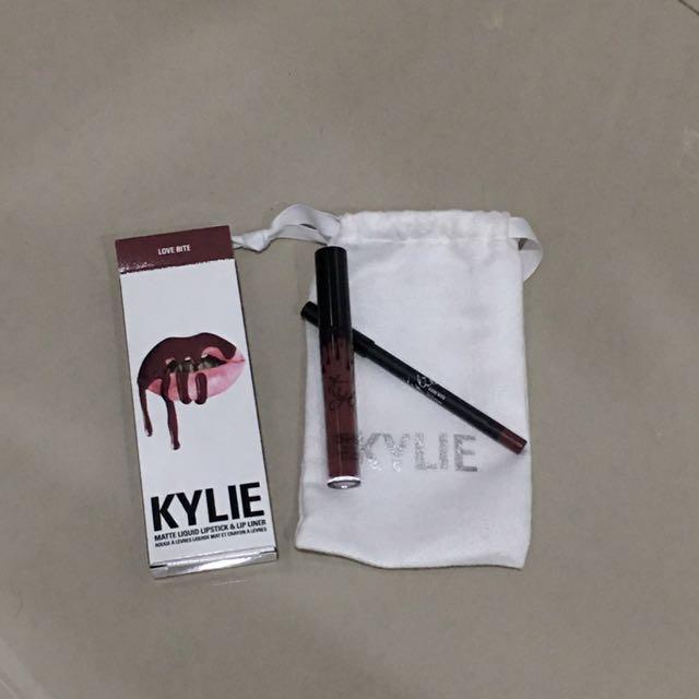 Kylie Lipkit lovebite ORI