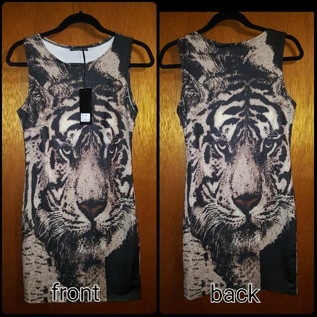 Tiger Party Dress