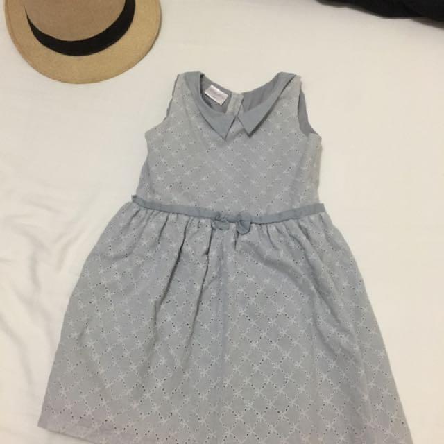 Little Miss Gray Dress