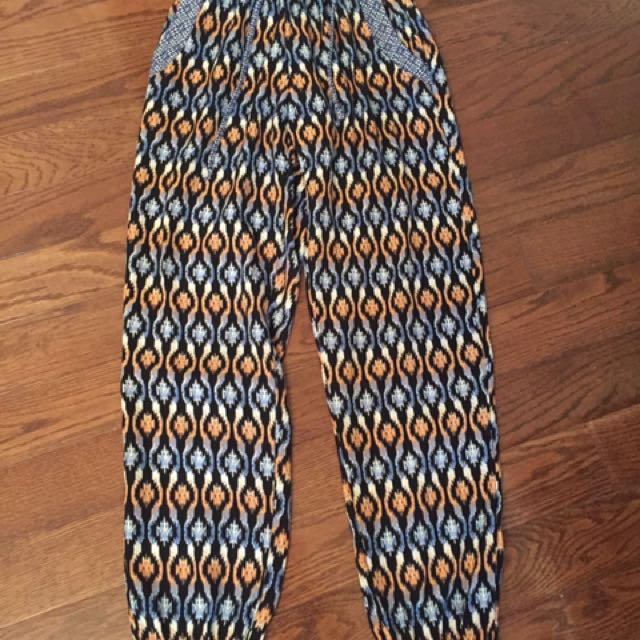 Loose Fit Pants ( 2 Different Patterns )