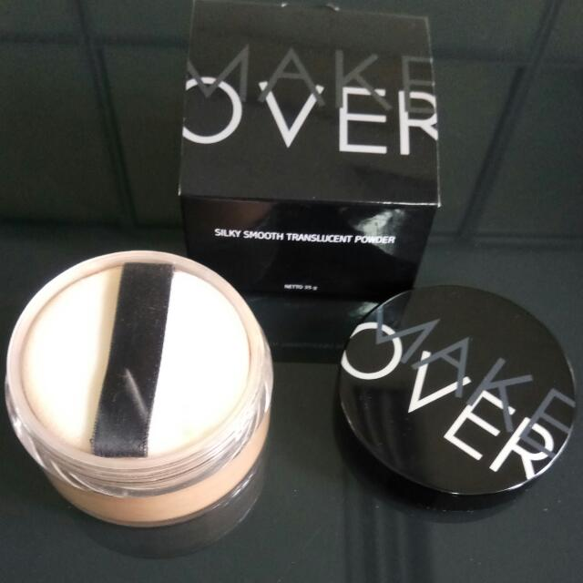 Make Over Silky Smooth Translucent Powder - 03 Champagne