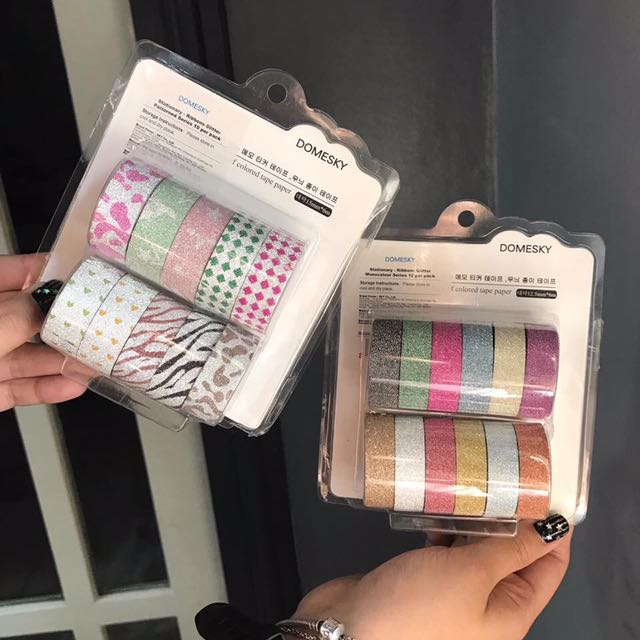 Mettalic Washi Tapes