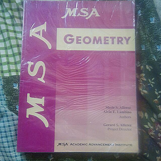 MSA Geometry