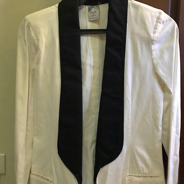 My Free Way Suit Color White