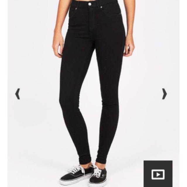 New Dr Denim High Waisted Skinny Jeans