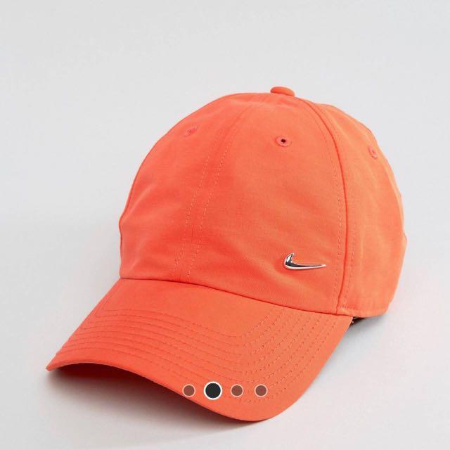 Nike Cap 橘