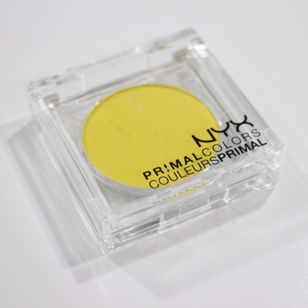 NYX Primal Color - Yellow