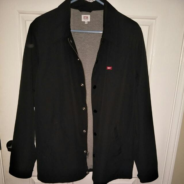 OBEY Jacket Button/Zip Up Size M