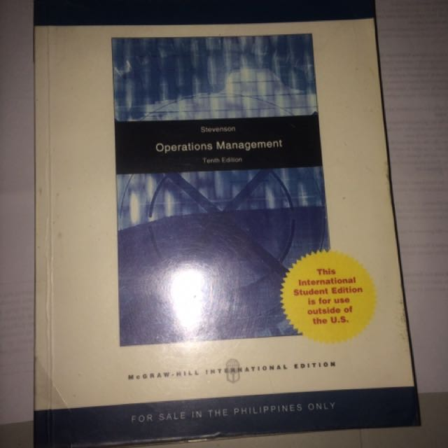 Operations Management (Stevenson)