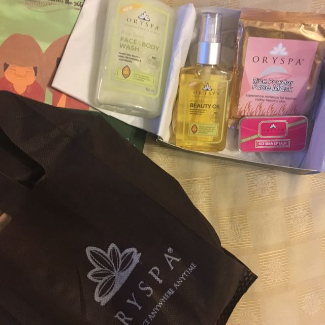 Oryspa Spa Set