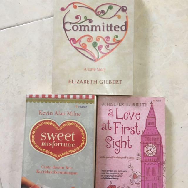 Paket Novel Romance (Free Ongkir Dalam Kota)