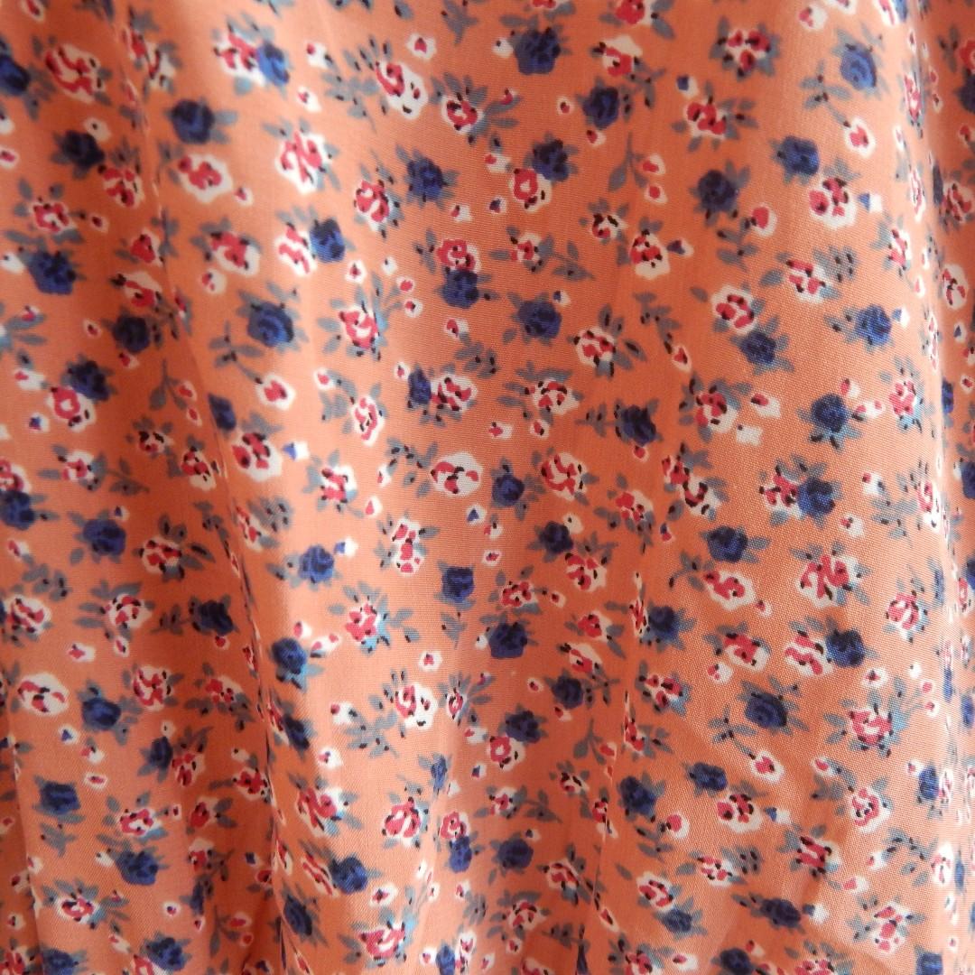 Peach Quirky Circus Dress