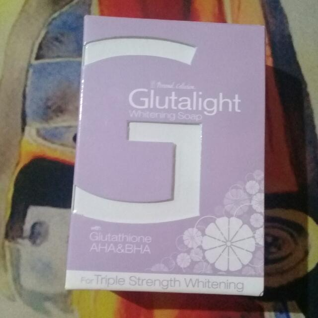 Personal Collections - Gluthalight Whitening Soap
