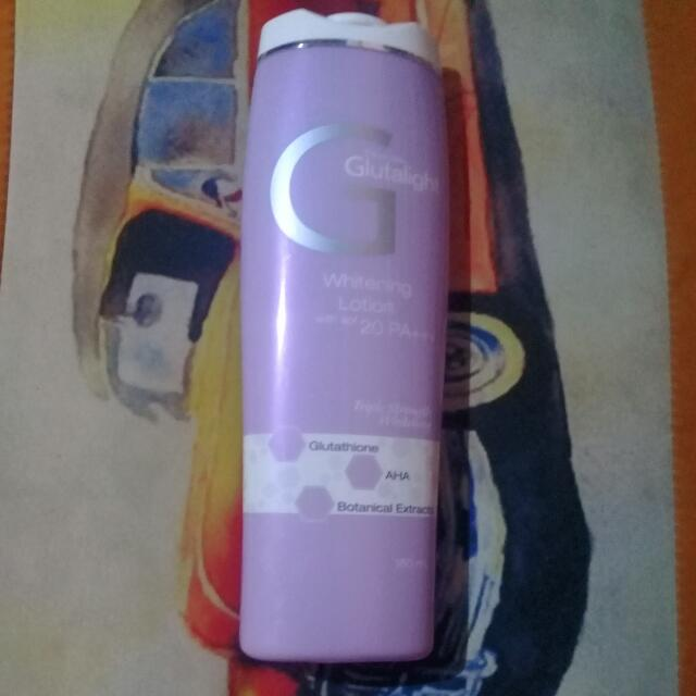 Personal Collections Glutalight Lotion