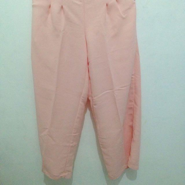 Celana Kulot [Pink]