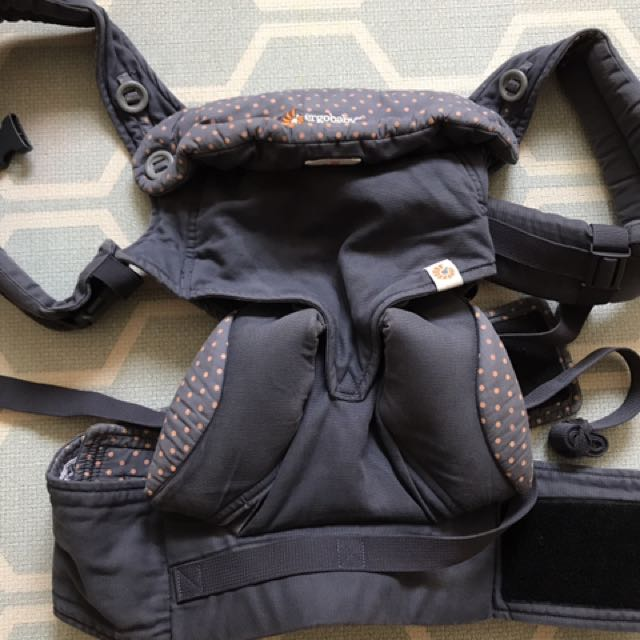 74935c3c625 PL Auth Original Ergobaby 360 Four Position Carrier Dusty Blue on ...