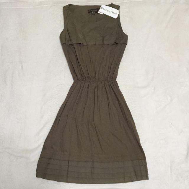 Plains & Prints Brown Dress
