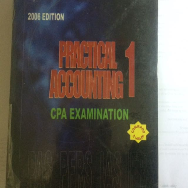 Practical Accounting 1