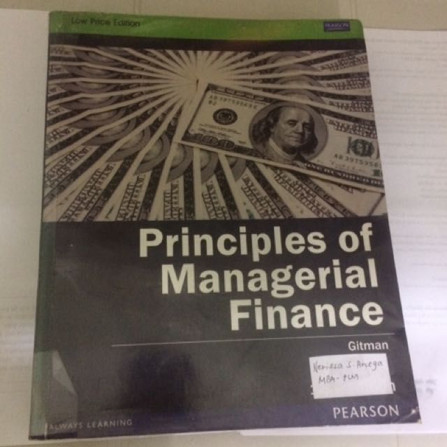 Principles Of Managerial Finance (Gitman)