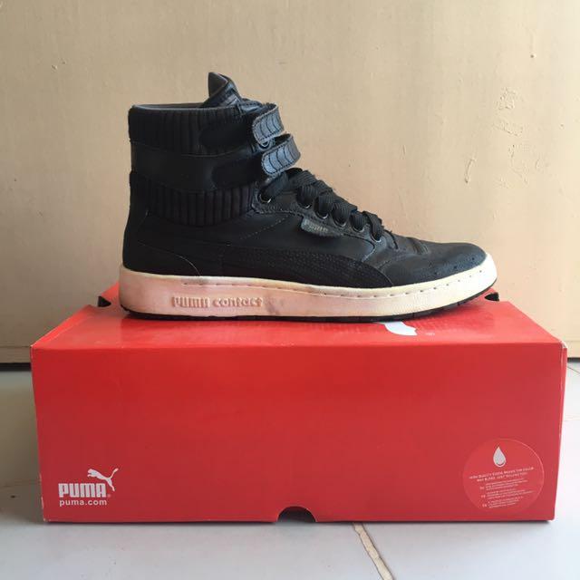 chaussures de sport a6cf5 8b276 Puma Suede Mid V Amber