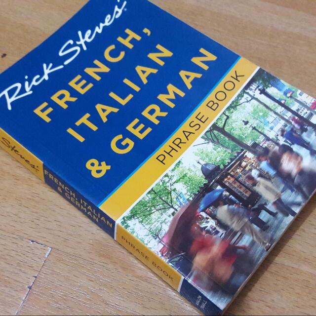 Rick Steves' Phrase Book