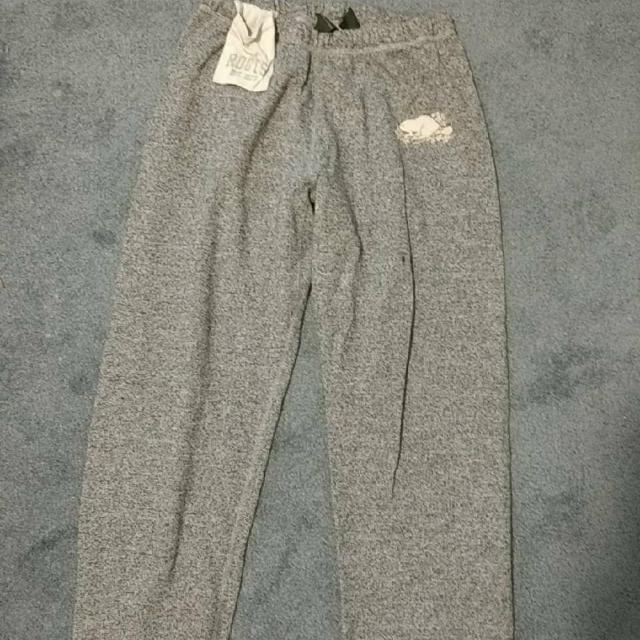 Roots Grey Sweats