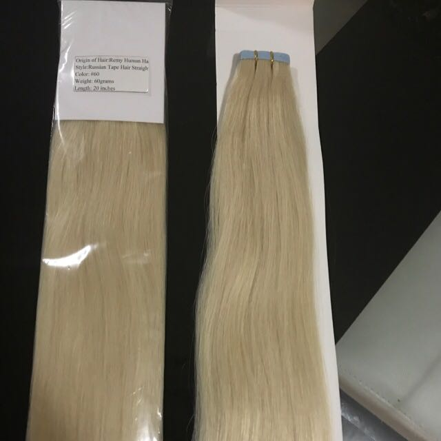 Russian Remy Hair Tapes