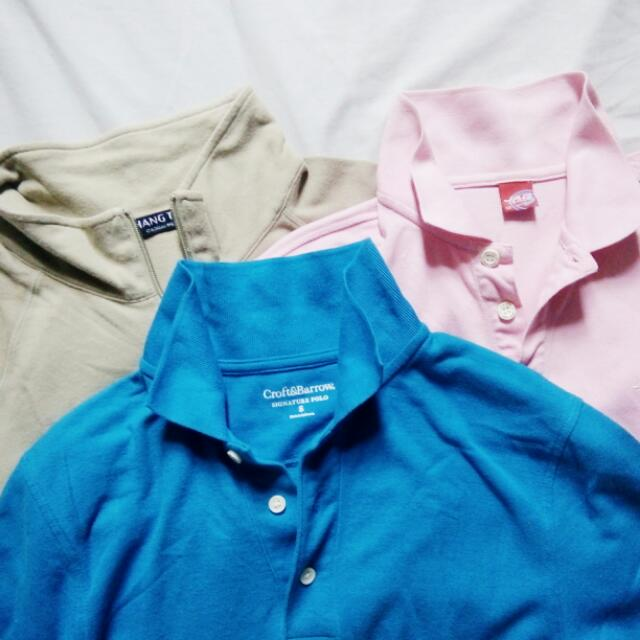 SALE!! Bundle 6 - Polo Shirts for Daddy
