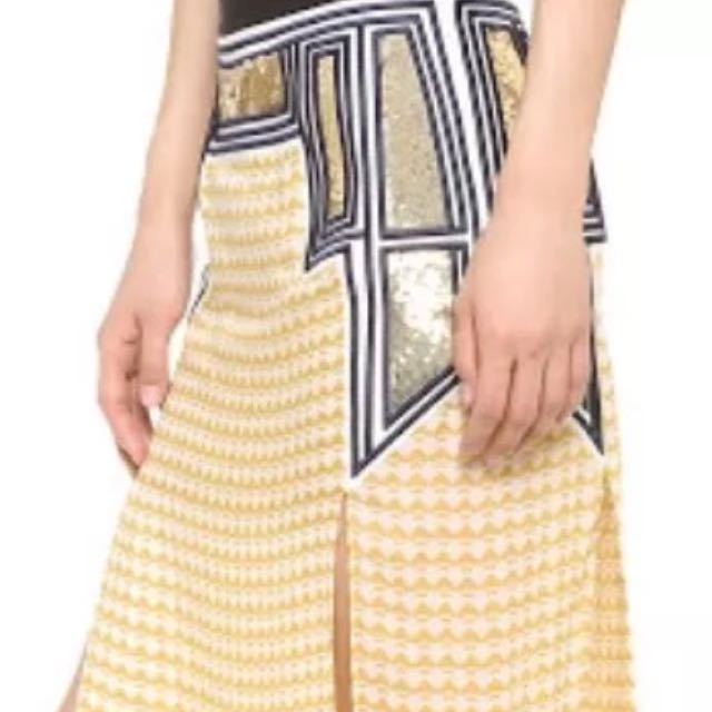 """Sass And Bide """"Don't Be Long Skirt"""" Size 8"""