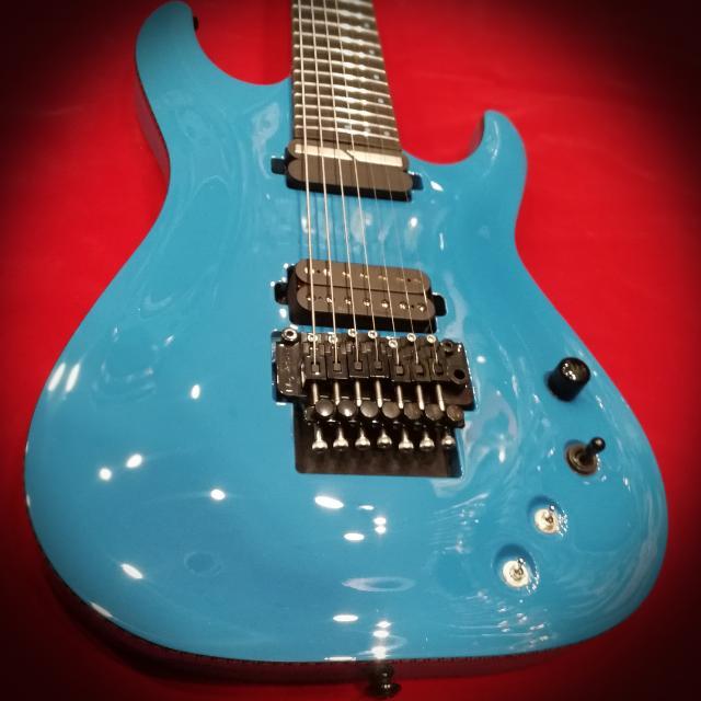 Schecter Electric Guitar KM-7 S Lambo Blue