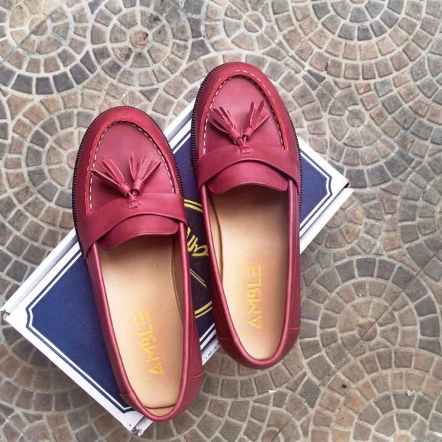 Sepatu loafers (Amble Footwear)