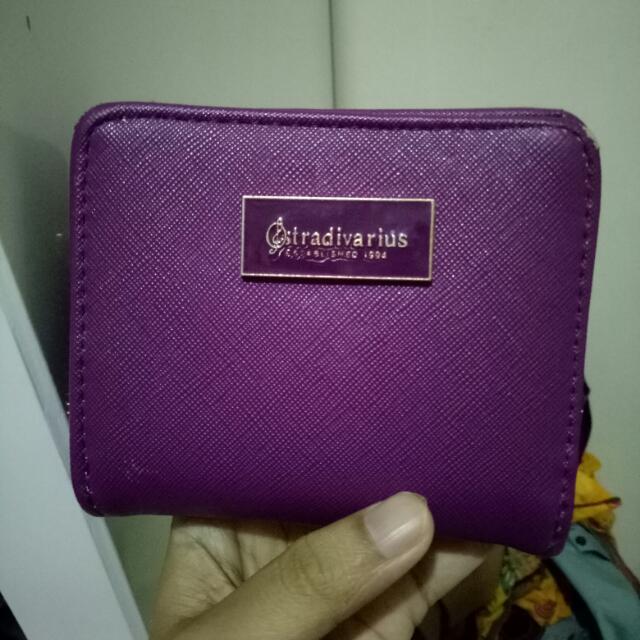REPRICE!! Stradivarius Wallet Warna Ungu