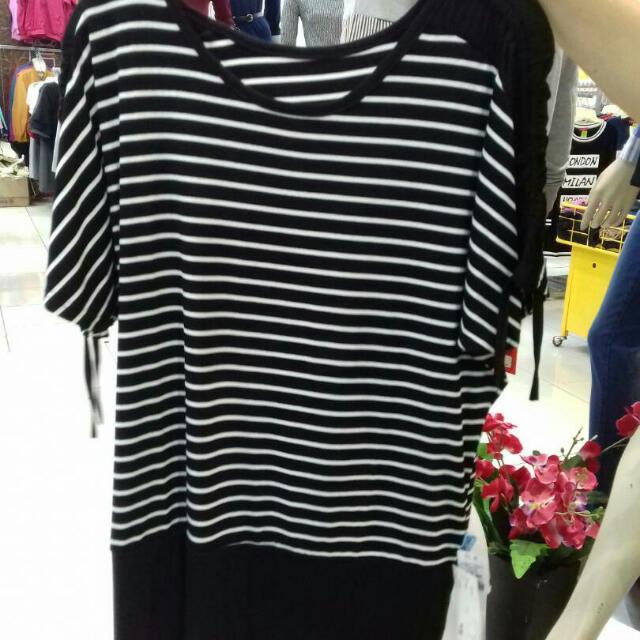 Striped Shirt Big Size