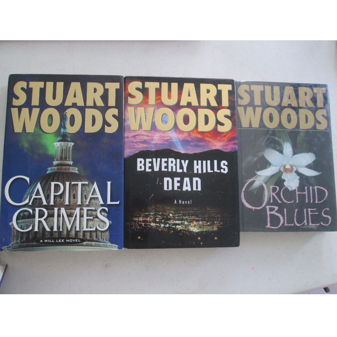 STUART WOODS BOOK COLLECTION