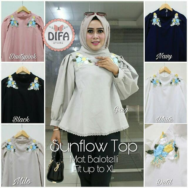 Sunflow Top