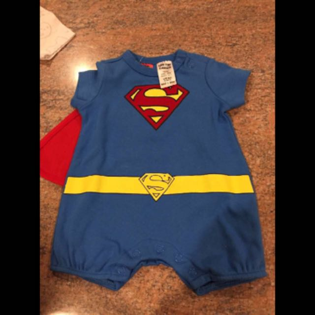 Superman Romper - Size NB