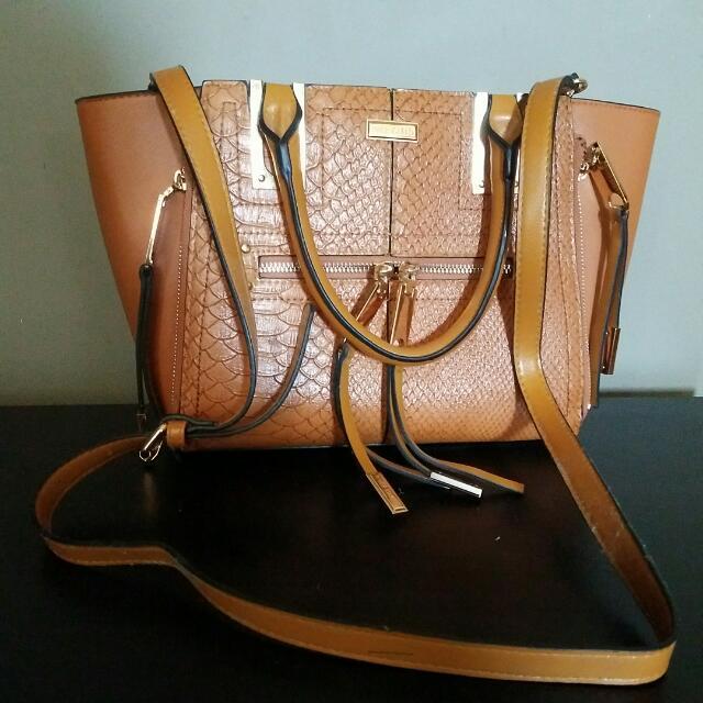 Tan River Island Handbag