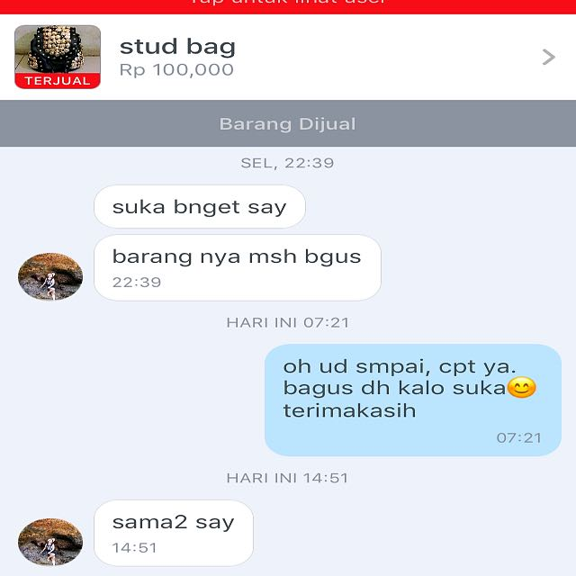 Four testimonial from buyers 🎀