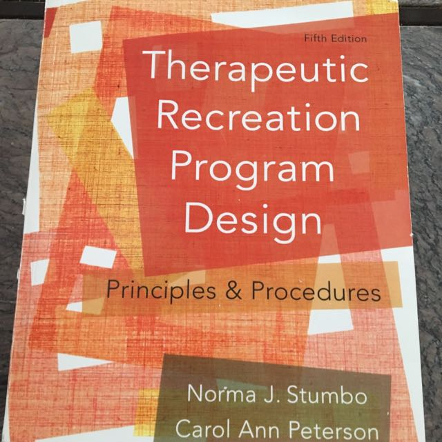 Therapeutic Recreation Program Design