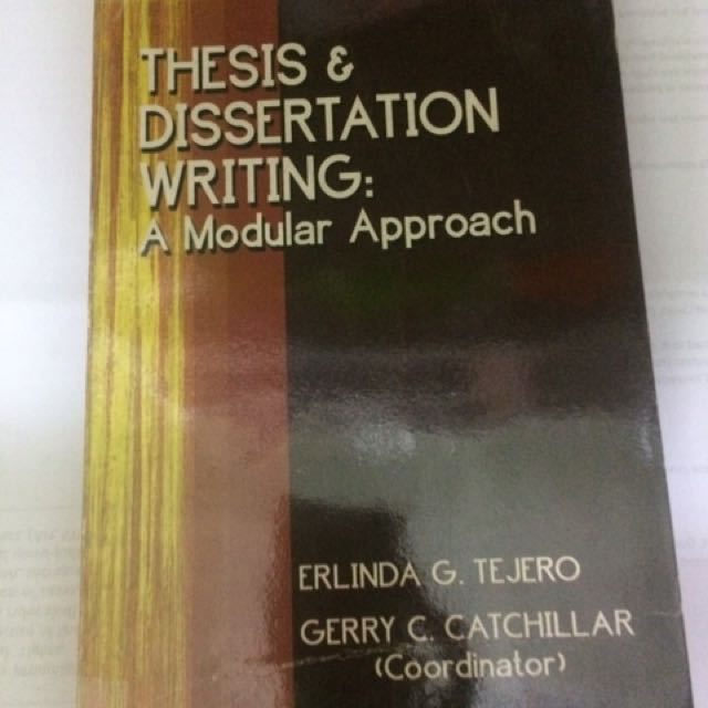 Thesis & Dissertation Writing