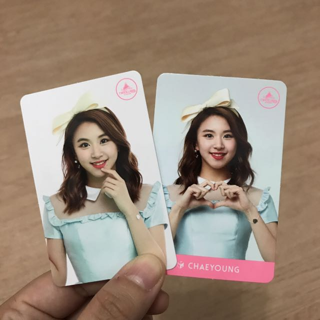 Twice - Chaeyoung Twiceland Cards