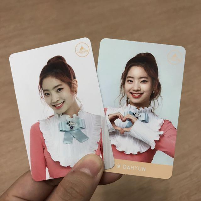 Twice - Dahyun Twiceland Cards