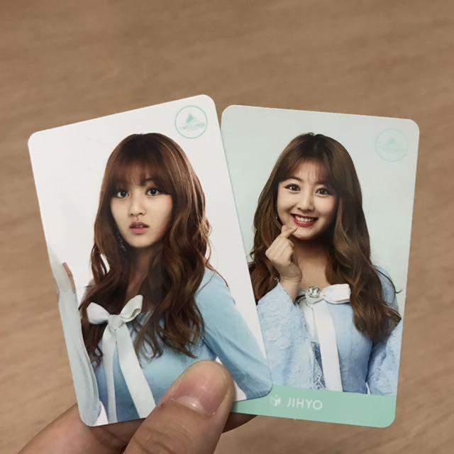 Twice - Jihyo Twiceland Cards
