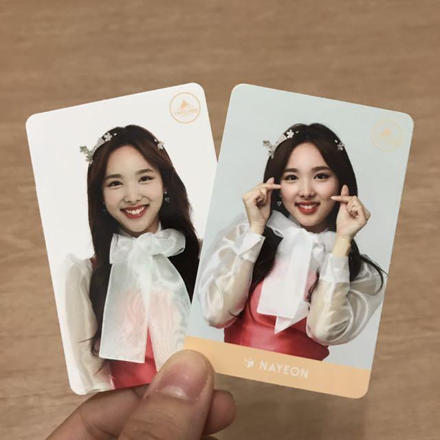 Twice - Nayeon Twiceland Cards