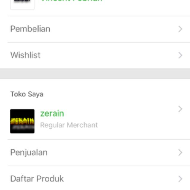 Visit My Store At Tokopedia (Zerain)