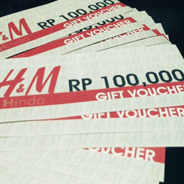 VOUCHER H&M 1jt