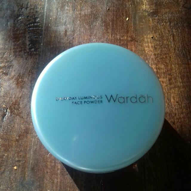 Wardah Face Powder No 02 Beige Masih Baru No Box