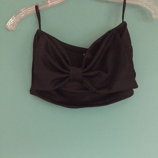 Windsor Bandeau Top In Black