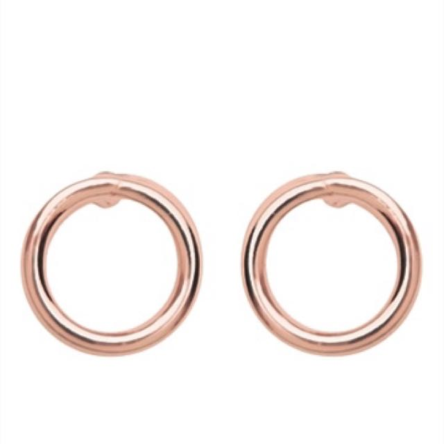 Witchery Earrings Rose Gold